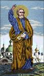 Вышиваем бисером L-72 Святой апостол Петр