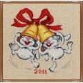Золотое руно Д-052 Новогодние зайчики