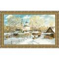 Золотое руно МД-012 Деревенская зима