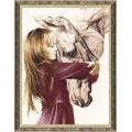 Золотое руно СВ-016 Девочка с лошадью