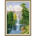 Золотое руно ВМ-027 Водопад в горах