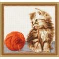 Золотое руно НЛ-042 Котёнок с клубком