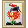 Золотое руно ВК-030 Клоун с попугаем