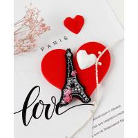 Абрис Арт 618044 Набор для вышивки бисером украшения на натур. художественном холсте 'Сердце Франции' АД-099