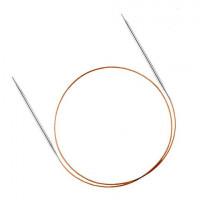 Addi 715-7/1.5-50 Спицы Addi круговые супергладкие с удлиненным кончиком 50см 1.5мм