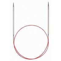 Addi 715-7/1.75-80 Спицы Addi круговые супергладкие с удлиненным кончиком 80см 1.75мм