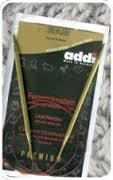 Addi 755-7/2-80 Спицы Addi Lace круговые с удлиненным кончиком 80см 2.0мм