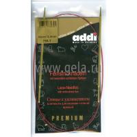 Addi 755-7/3-80 Спицы Addi Lace круговые с удлиненным кончиком 80см 3.0мм