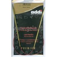 Addi 755-7/3.5-60 Спицы Addi Lace круговые с удлиненным кончиком 60см 3.5мм