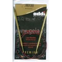 Addi 755-7/4.5-80 Спицы Addi Lace круговые с удлиненным кончиком 80см 4.5мм