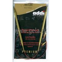 Addi 755-7/5-60 Спицы Addi Lace круговые с удлиненным кончиком 60см 5.0мм