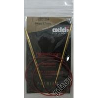 Addi 755-7/5.5-80 Спицы Addi Lace круговые с удлиненным кончиком 80см 5.5мм
