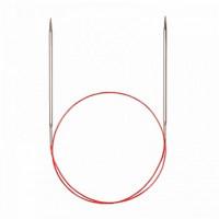Addi 775-7/6-50 Спицы Addi круговые супергладкие с удлиненным кончиком 50см 6.0мм