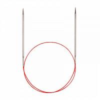 Addi 775-7/6.5-100 Спицы Addi круговые супергладкие с удлиненным кончиком 100см 6.5мм