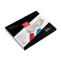 "Аква-колор IZO-MC24 ""Аква-колор"" Пластилин классический ""Изостудия"" IZO-MC24 480 г ( в картонной упаковке ) 24 цв. ."