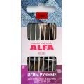 Alfa AF-226 Иглы ручные для вязаных изделий, шерсти № 2/0