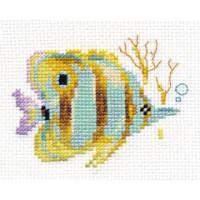 Алиса 0-151 Тропические рыбки. Полосатая