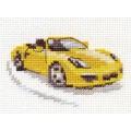Алиса 0-156 Жёлтый спорткар