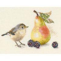 Алиса 5-23 Птичка и груша