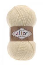 Пряжа для вязания Alize Alpaca Royal (Ализе Альпака Роял) Цвет 01 молочный