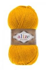 Пряжа для вязания Alize Alpaca Royal (Ализе Альпака Роял) Цвет 02 шафран