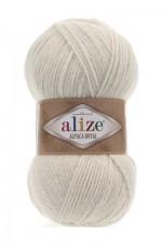 Пряжа для вязания Alize Alpaca Royal (Ализе Альпака Роял) Цвет 152 бежевый