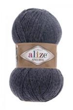 Пряжа для вязания Alize Alpaca Royal (Ализе Альпака Роял) Цвет 203 джинсовый