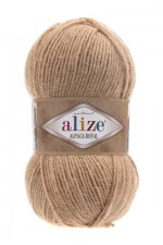 Пряжа для вязания Alize Alpaca Royal (Ализе Альпака Роял) Цвет 262 светло бежевый