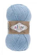 Пряжа для вязания Alize Alpaca Royal (Ализе Альпака Роял) Цвет 356 голубой