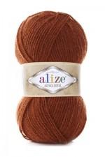 Пряжа для вязания Alize Alpaca Royal (Ализе Альпака Роял) Цвет 36 терракот
