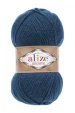 Пряжа для вязания Alize Alpaca Royal (Ализе Альпака Роял) Цвет 381 джинс