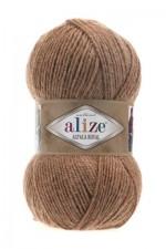 Пряжа для вязания Alize Alpaca Royal (Ализе Альпака Роял) Цвет 466 верблюжий