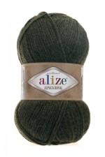 Пряжа для вязания Alize Alpaca Royal (Ализе Альпака Роял) Цвет 567 темно зеленый