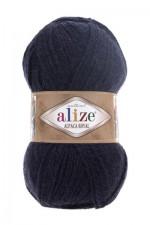 Пряжа для вязания Alize Alpaca Royal (Ализе Альпака Роял) Цвет 58 темно синий
