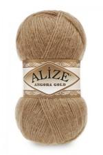 Пряжа Alize Angora Gold (Ализе Ангора Голд) Цвет 127 карамель
