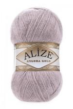 Пряжа Alize Angora Gold (Ализе Ангора Голд) Цвет 163 серая роза