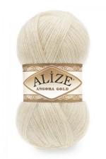Пряжа Alize Angora Gold (Ализе Ангора Голд) Цвет 213 кремовый