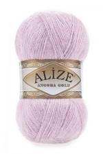 Пряжа Alize Angora Gold (Ализе Ангора Голд) Цвет 27 лиловый