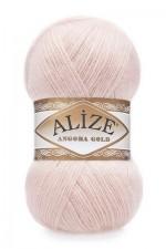 Пряжа Alize Angora Gold (Ализе Ангора Голд) Цвет 271 жемчужно розовый
