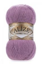 Пряжа Alize Angora Gold (Ализе Ангора Голд) Цвет 28 сухая роза