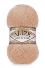 Пряжа Alize Angora Gold (Ализе Ангора Голд) Цвет 282 абрикос