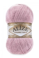 Пряжа Alize Angora Gold (Ализе Ангора Голд) Цвет 295 розовый