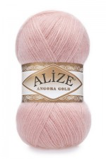 Пряжа Alize Angora Gold (Ализе Ангора Голд) Цвет 363 светло розовый