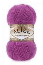Пряжа Alize Angora Gold (Ализе Ангора Голд) Цвет 46 темно розовый