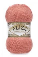 Пряжа Alize Angora Gold (Ализе Ангора Голд) Цвет 656 коралловый