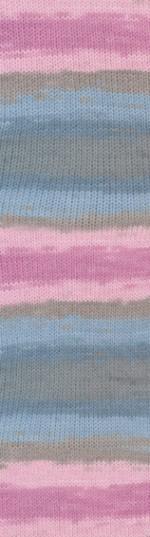 Пряжа для вязания Alize Angora Gold Batik (Ализе Ангора Голд Батик) Цвет 2970