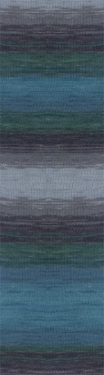 Пряжа для вязания Alize Angora Gold Batik (Ализе Ангора Голд Батик) Цвет 4239
