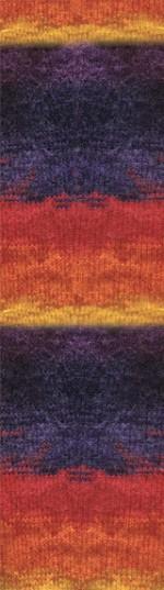 Пряжа для вязания Alize Angora Gold Batik (Ализе Ангора Голд Батик) Цвет 6834