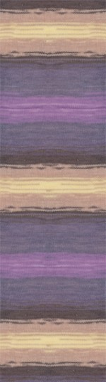 Пряжа для вязания Alize Angora Gold Batik (Ализе Ангора Голд Батик) Цвет 6954
