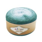 Пряжа для вязания Alize Angora Gold Ombre Batik (Ализе Ангора Голд Омбре Батик) Цвет 7297